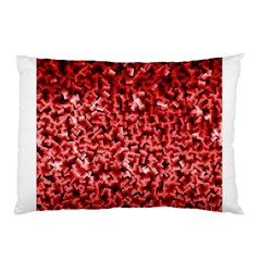Red Cubes Pillow Cases