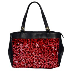 Red Cubes Office Handbags