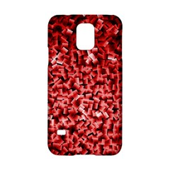 Red Cubes Samsung Galaxy S5 Hardshell Case