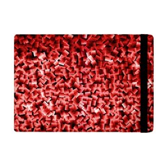 Red Cubes iPad Mini 2 Flip Cases