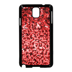 Red Cubes Samsung Galaxy Note 3 Neo Hardshell Case (black)