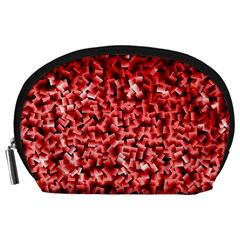Red Cubes Accessory Pouches (Large)