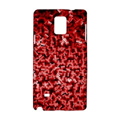 Red Cubes Samsung Galaxy Note 4 Hardshell Case