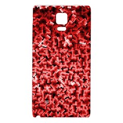 Red Cubes Galaxy Note 4 Back Case