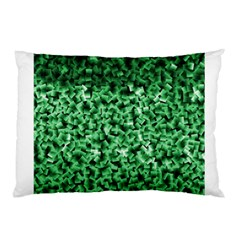 Green Cubes Pillow Cases