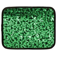 Green Cubes Netbook Case (xxl)