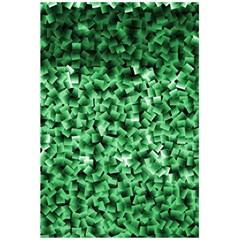 Green Cubes 5 5  X 8 5  Notebooks