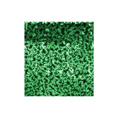 Green Cubes Shower Curtain 48  x 72  (Small)