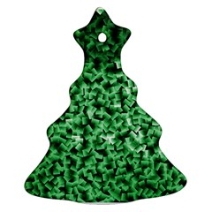 Green Cubes Ornament (Christmas Tree)