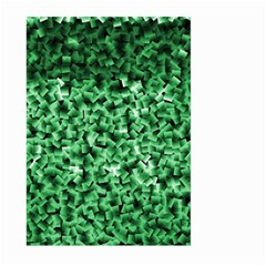Green Cubes Large Garden Flag (Two Sides)