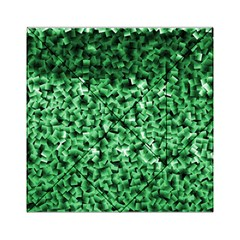 Green Cubes Acrylic Tangram Puzzle (6  x 6 )