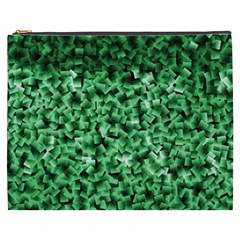 Green Cubes Cosmetic Bag (xxxl)