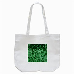 Green Cubes Tote Bag (white)