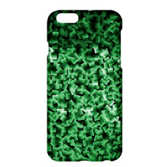 Green Cubes Apple iPhone 6 Plus Hardshell Case