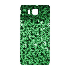 Green Cubes Samsung Galaxy Alpha Hardshell Back Case
