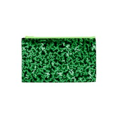 Green Cubes Cosmetic Bag (XS)