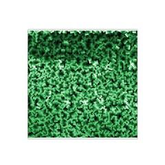 Green Cubes Satin Bandana Scarf