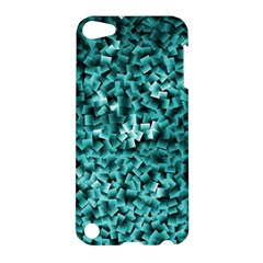 Teal Cubes Apple Ipod Touch 5 Hardshell Case