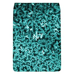 Teal Cubes Flap Covers (s)