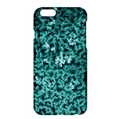 Teal Cubes Apple iPhone 6 Plus Hardshell Case