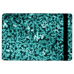 Teal Cubes iPad Air 2 Flip