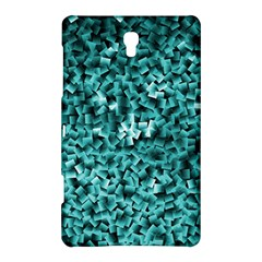 Teal Cubes Samsung Galaxy Tab S (8 4 ) Hardshell Case