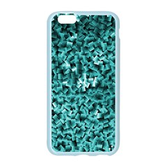 Teal Cubes Apple Seamless iPhone 6 Case (Color)