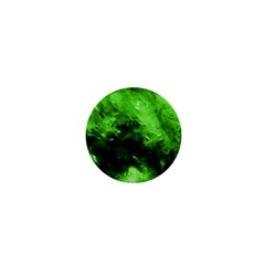 Bright Green Abstract 1  Mini Magnets