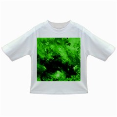 Bright Green Abstract Infant/Toddler T-Shirts