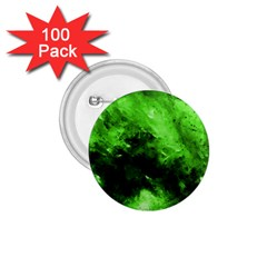 Bright Green Abstract 1 75  Buttons (100 Pack)