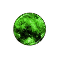 Bright Green Abstract Hat Clip Ball Marker (10 Pack)