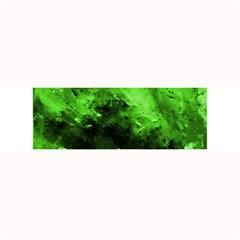 Bright Green Abstract Large Bar Mats