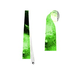 Bright Green Abstract Neckties (one Side)