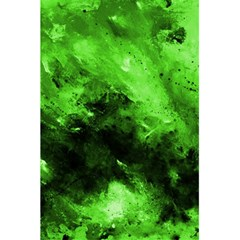 Bright Green Abstract 5.5  x 8.5  Notebooks