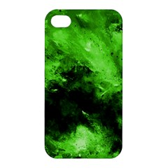 Bright Green Abstract Apple Iphone 4/4s Hardshell Case