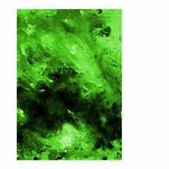 Bright Green Abstract Small Garden Flag (Two Sides)