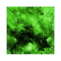 Bright Green Abstract Acrylic Tangram Puzzle (6  X 6 )
