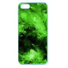 Bright Green Abstract Apple Seamless Iphone 5 Case (color)
