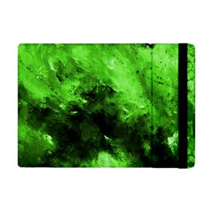 Bright Green Abstract Apple Ipad Mini Flip Case