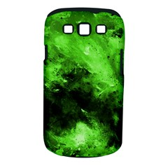 Bright Green Abstract Samsung Galaxy S Iii Classic Hardshell Case (pc+silicone)