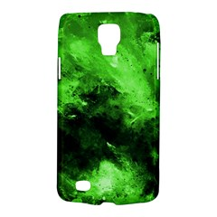 Bright Green Abstract Galaxy S4 Active