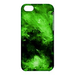 Bright Green Abstract Apple Iphone 5c Hardshell Case