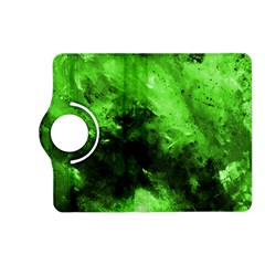 Bright Green Abstract Kindle Fire Hd (2013) Flip 360 Case
