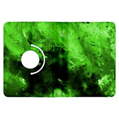 Bright Green Abstract Kindle Fire Hdx Flip 360 Case