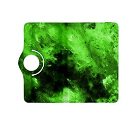 Bright Green Abstract Kindle Fire HDX 8.9  Flip 360 Case