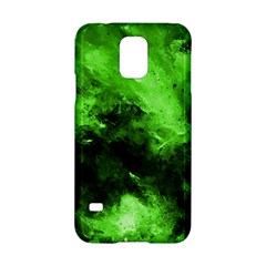Bright Green Abstract Samsung Galaxy S5 Hardshell Case