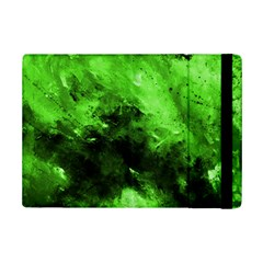 Bright Green Abstract iPad Mini 2 Flip Cases
