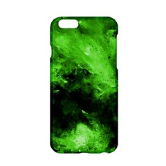 Bright Green Abstract Apple Iphone 6 Hardshell Case