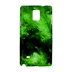 Bright Green Abstract Samsung Galaxy Note 4 Hardshell Case