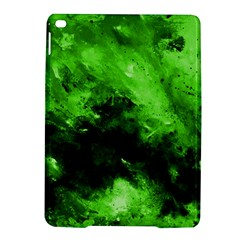 Bright Green Abstract Ipad Air 2 Hardshell Cases